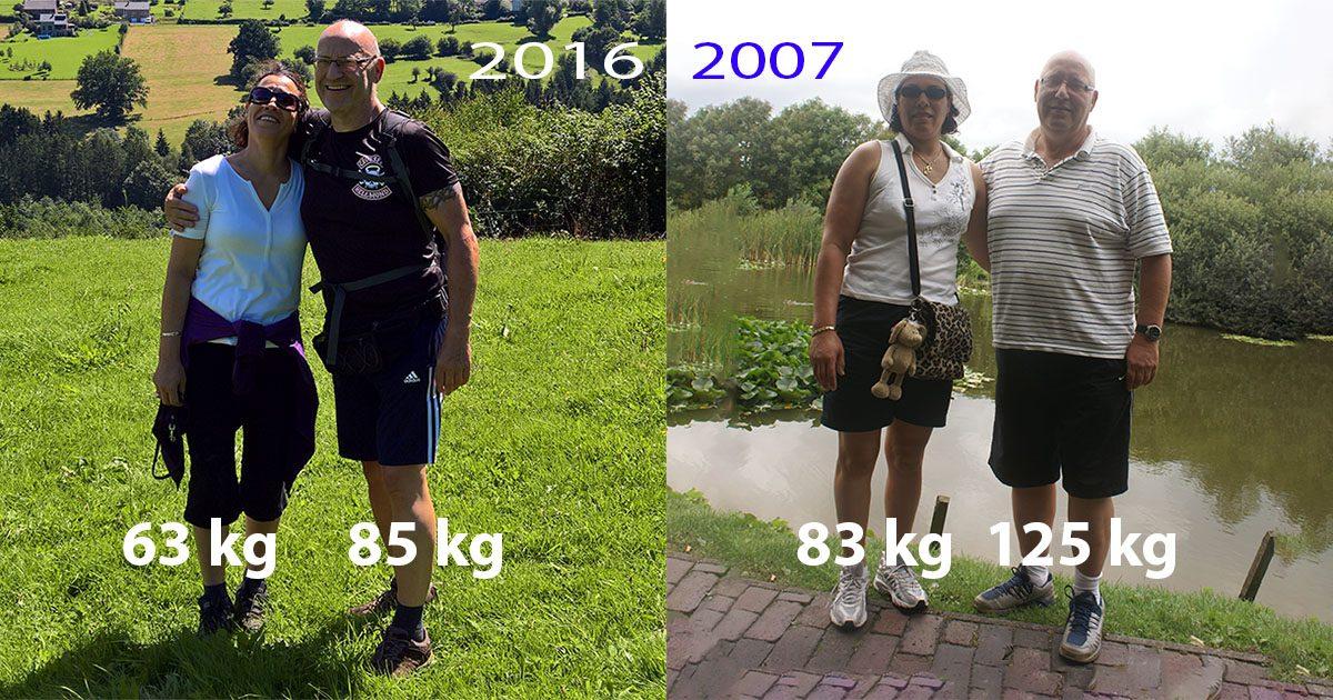 Wim en Saïda Tilburgs diabetes genezen en samen 60 kilo afgevallen