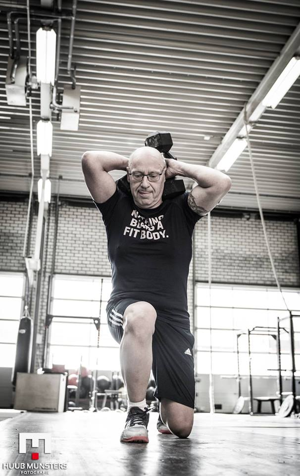 Wim Tilburgs Lunges CrossFit Open