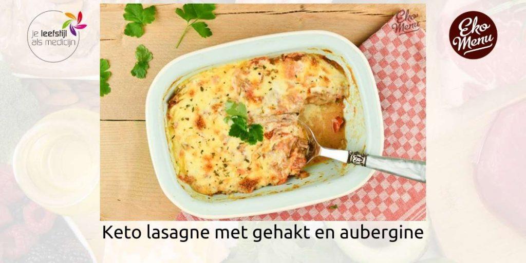 Lasagne met gehakt en aubergine