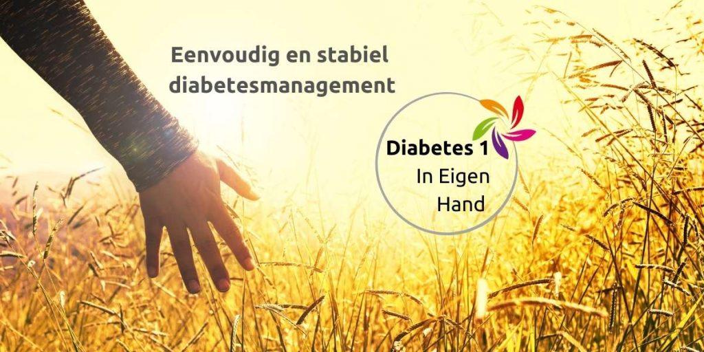 Diabetes 1 in eigen hand leefstijlprogramma Stichting Je Leefstijl Als Medicijn