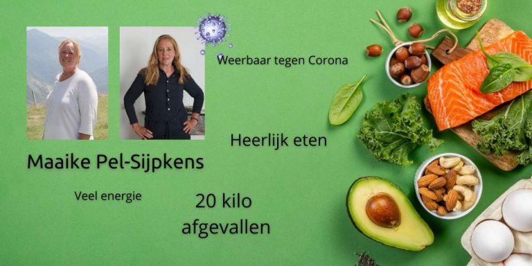 Maaike Pel-Sijpkens – twintig kilo eraf en meer energie dankzij keto dieet
