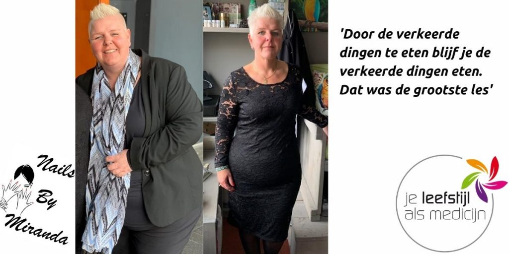 75 kilo afvallen - Hoe Miranda haar gewicht onder controle kreeg