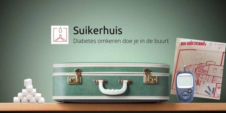 Het suikerhuis mensen met diabetes helpen op een laagdrempelige manier