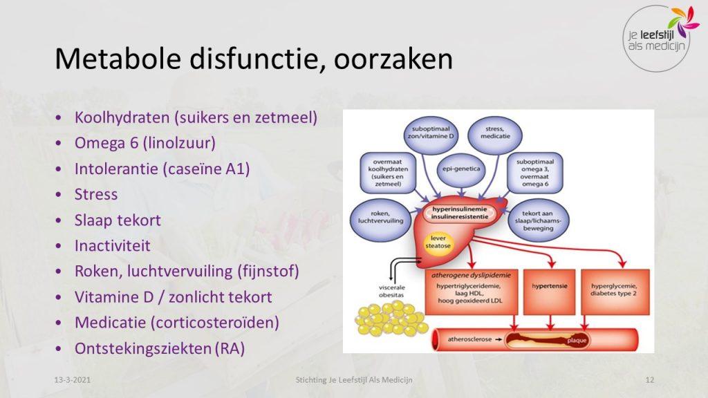 metabole disfunctie oorzaken