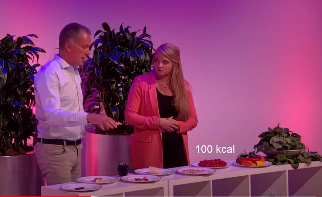 Sportarts Hans van Kuijk met uitleg over calorieën