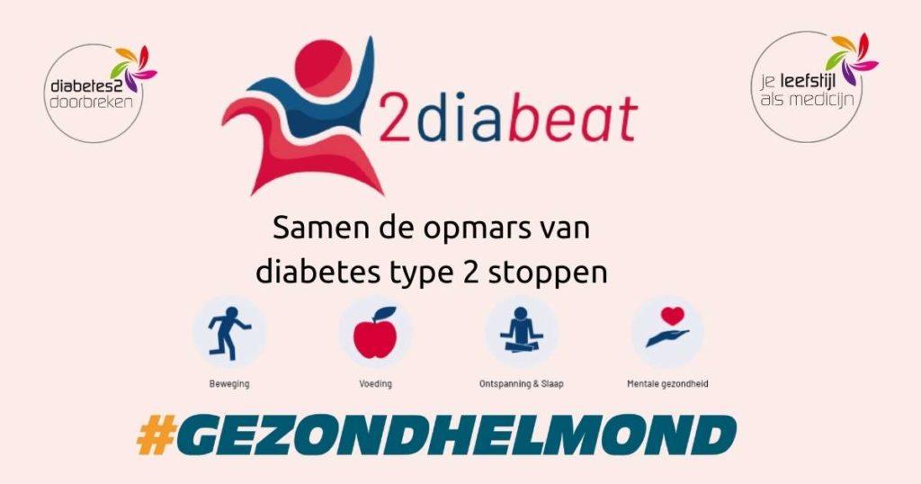 2diabeat samen de opmars van diabetes type 2 stoppen