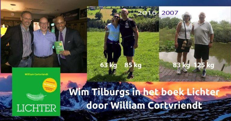 Wim Tilburgs in het boek Lichter Door William Cortvriendt